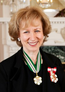 Kim Campbell photo Nov 2014