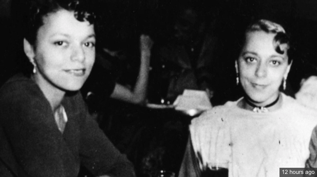 Wanda Robson (l) helped keep the story of her sister Viola Desmond (r) alive.